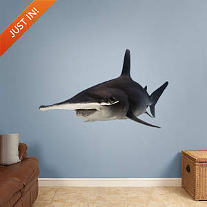 Hammerhead Shark Fathead Wall Decal
